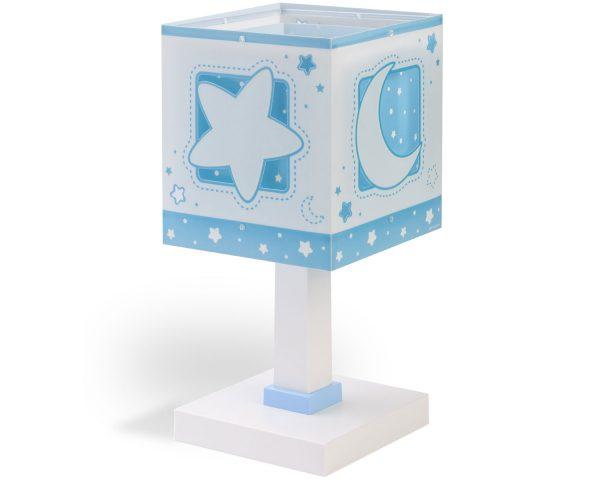 Ango 63231 T - MoonLight Blue κομοδίνου παιδικό φωτιστικό διπλού τοιχώματος