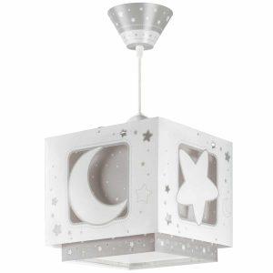 Ango 63232 E - MoonLight Gray κρεμαστό παιδικό φωτιστικό οροφής διπλού τοιχώματος
