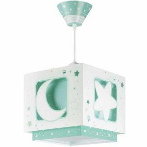 Ango 63232 H - MoonLight Green κρεμαστό παιδικό φωτιστικό οροφής διπλού τοιχώματος