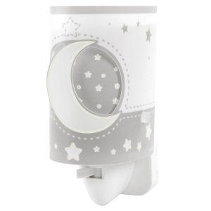 Ango 63235L E - MoonLight Gray παιδικό φωτιστικό νύκτας πρίζας LED