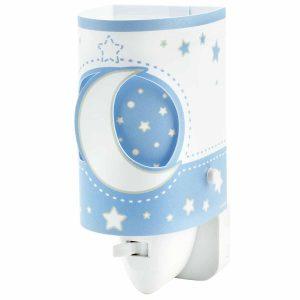Ango 63235L T - MoonLight Blue παιδικό φωτιστικό νύκτας πρίζας LED