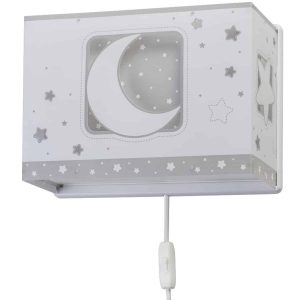 Ango 63238 E - MoonLight Gray παιδικό φωτιστικό απλίκα τοίχου διπλού τοιχώματος