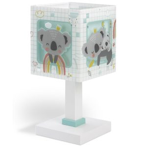 Ango 63261 H - Koala Green κομοδίνου παιδικό φωτιστικό διπλού τοιχώματος