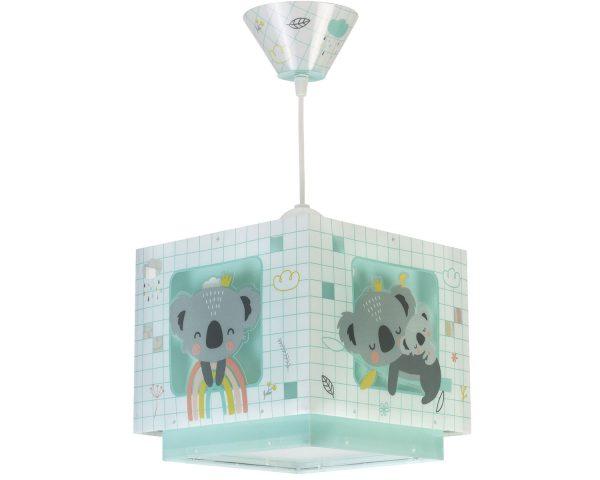 Ango 63262 H - Koala Green κρεμαστό παιδικό φωτιστικό οροφής διπλού τοιχώματος