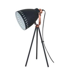 Φωτιστικό Επιτραπέζιο Max Μαύρο Μεταλλικό 955Max1T