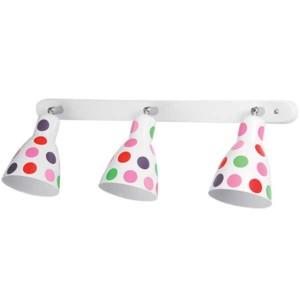Φωτιστικό Σποτ 3Φ Dots Λευκό Μεταλλικό 955Dots3S