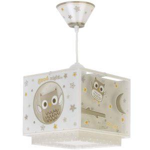 Ango 63392 - Good Night κρεμαστό παιδικό φωτιστικό οροφής διπλού τοιχώματος που φωσφορίζει