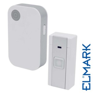 Ασύρματο Κουδούνι 5023/1 με Μπαταρίες ELMARK με 36 Μελωδίες και Οπτικό Σήμα