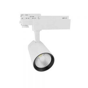 Σποτ Ράγας LED Ρυθμιζόμενο 40W 3000K Λευκό Spotlight 6350