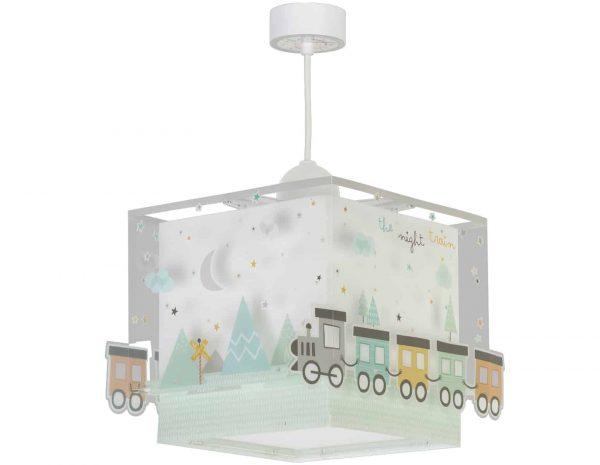 Ango 63532 - The Night Train κρεμαστό παιδικό φωτιστικό οροφής διπλού τοιχώματος που φωσφορίζει
