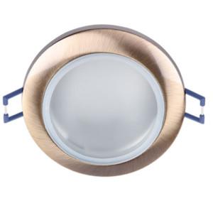 Σποτ Οροφής Χωνευτό Μπάνιου Αντικέ Χρυσό IP44 12V Elmark 92627/AB