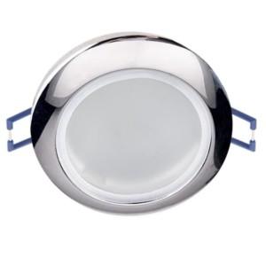 Σποτ Οροφής Χωνευτό Μπάνιου Χρώμιο IP44 12V Elmark 92627/CH