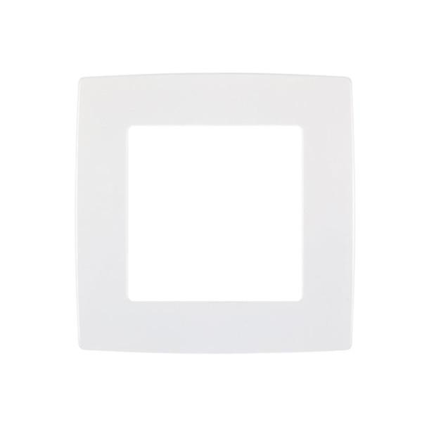 Πλαίσιο Μονό CITY Μεταλλικό Λευκό