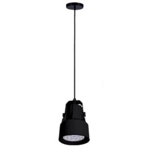 Κρεμαστό Φωτιστικό Μεταλλικό με λάμπα PAR30 12W E27 2700K 900lms Μαύρο Elmark 93SKY2211PWW/BL