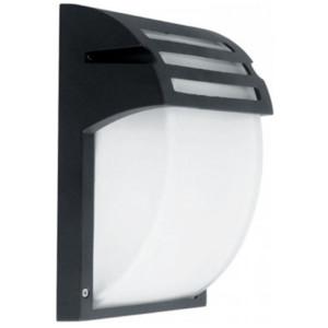 Φωτιστικό Τοίχου/Απλίκα Εξωτερικού Χώρου Μαύρη IP44 1XE27 Elmark 95WL001/BL