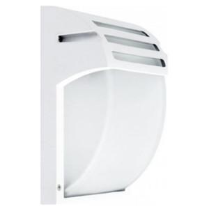 Φωτιστικό Τοίχου/Απλίκα Εξωτερικού Χώρου Λευκή IP44 1XE27 Elmark 95WL001/WH