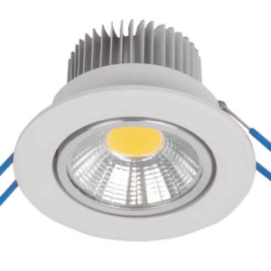 LSLCOB Downlight 5W 2700-3000K Λευκό 230W 92LSLC527/WH