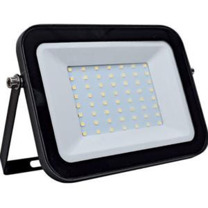 Προβολέας LED SMD 50W Μαύρος 5-5500K Ψυχρό 4000 lumens IP65 Elmark 98HELIOS50