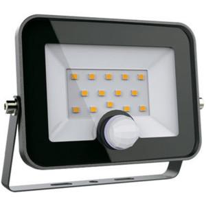 Προβολέας LED +Ανιχνευτής SMD 50W Μαύρος 5-5500K Ψυχρό 4000 lumens IP65 Elmark 98HELIOS50SEN