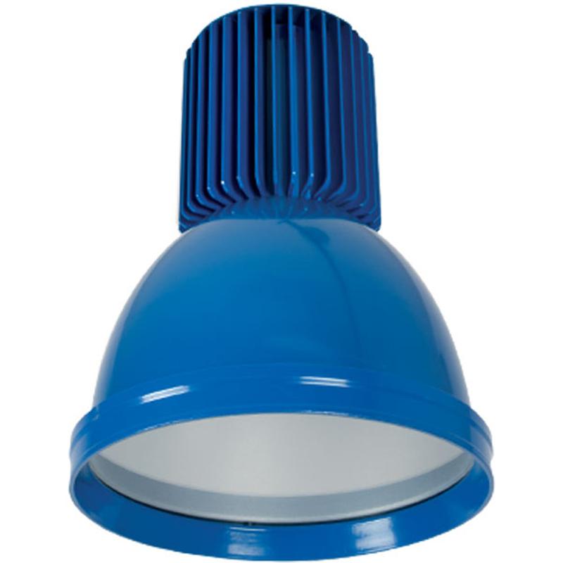 Καμπάνα Μπλέ Αλουμινίου LED Βιομηχανικό φωτιστικό 30W 2400lms IP20 5500K Ψυχρό Elmark 98MINICOL-B