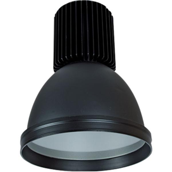 Καμπάνα Μαύρη Αλουμινίου LED Βιομηχανικό φωτιστικό 30W 2400lms IP20 5500K Ψυχρό Elmark 98MINICOL-BL