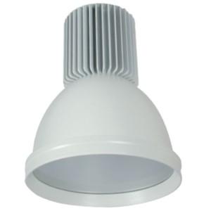 Καμπάνα Λευκή Αλουμινίου LED Βιομηχανικό φωτιστικό 30W 2400lms IP20 5500K Ψυχρό Elmark 98MINICOL-WT