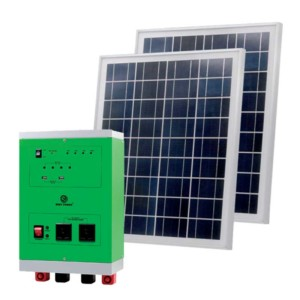 HOME SOLAR POWER SYSTEM 2000W/18V 250Wx2 SET Elmark 98SOL2000