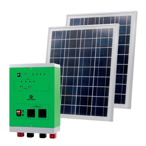 HOME SOLAR POWER SYSTEM 2000W/18V 250Wx2 SET Elmark 98SOL2000
