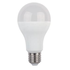 Λάμπα LED Dimmable 12W Τύπου Αχλάδι 230V E27 1080lms 4000K Ουδέτερο Λευκό Elmark 99LED582