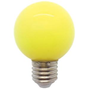 Λάμπα LED Σφαιρική 3W 230V E27 Κίτρινη Elmark 99LED826