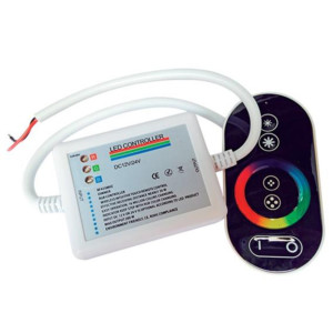 Controller 12-24V DC Για Διαχείριση Αφής Για LED RGB Ταινίες IP20 Elmark 99RGBCR4