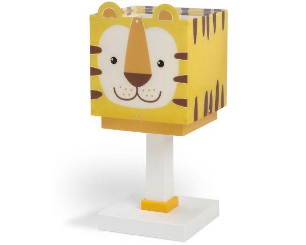 Ango 64561 - Little Tiger κομοδίνου παιδικό φωτιστικό διπλού τοιχώματος