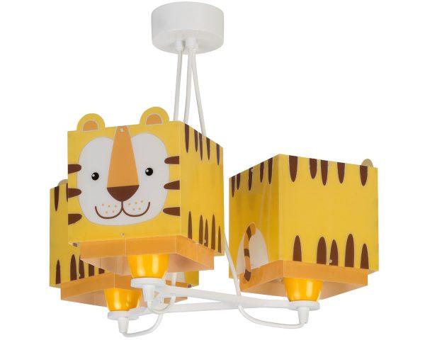 Ango 64567 - Little Tiger κρεμαστό τρίφωτο φωτιστικό οροφής