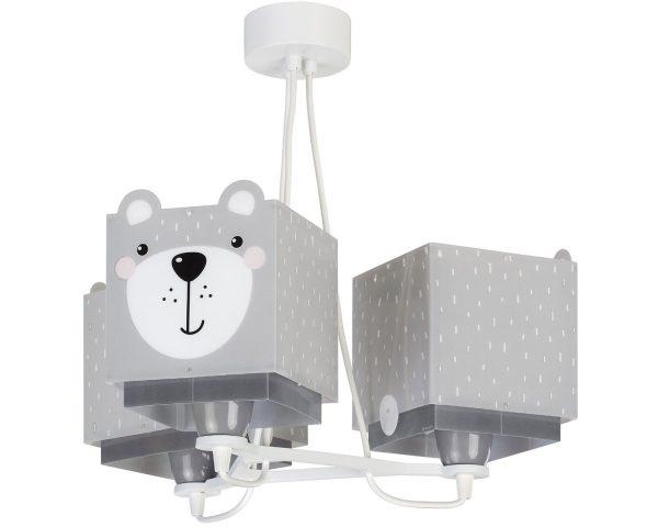 Ango 64577 - Little Teddy κρεμαστό τρίφωτο φωτιστικό οροφής