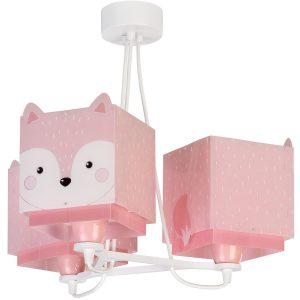 Ango 64587 - Little Fox κρεμαστό τρίφωτο φωτιστικό οροφής
