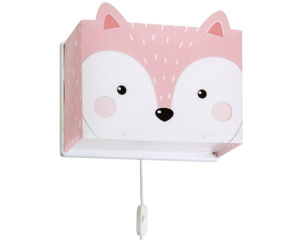 Ango 64588 - Little Fox παιδικό φωτιστικό απλίκα τοίχου διπλού τοιχώματος