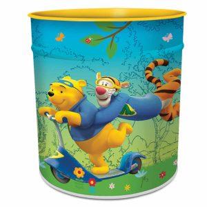Ango 6608 - Winnie Pooh κάδος αχρήστων μεταλλικός
