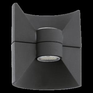 LED-ΦΩΤΙΣΤΙΚΟ ΤΟΙΧΟΥ ΕΞ.ΧΩΡΟΥ 2 ΑΝΘΡΑΚΙ REDONDO - 93368 - EGLO