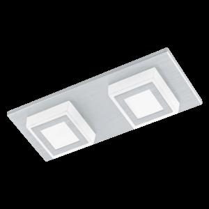 LED-ΦΩΤΙΣΤΙΚΟ ΤΟΙΧΟΥ / ΟΡΟΦΗΣ / 2 ALU-GEB / SAT.MASIANO - 94506 - EGLO