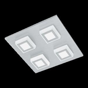 LED-ΦΩΤΙΣΤΙΚΟ ΤΟΙΧΟΥ / ΟΡΟΦΗΣ / 4 ALU-GEB / SAT. MASIANO - 94508 - EGLO
