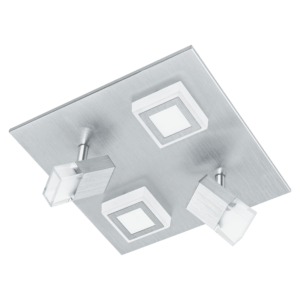 LED-ΦΩΤΙΣΤΙΚΟ ΤΟΙΧΟΥ / ΟΡΟΦΗΣ / 2+2 ALU-GEB / SAT. MASIANO - 94512 - EGLO