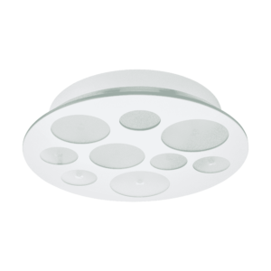 LED-ΦΩΤΙΣΤΙΚΟ ΟΡΟΦΗΣ / 9 ΛΕΥΚΟ / SAT - ΔΙΑΦΑΝΟ PERNATO - 94588 - EGLO