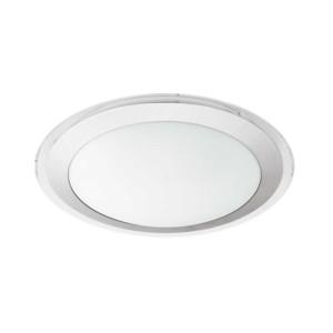 LED-ΦΩΤΙΣΤΙΚΟ ΟΡΟΦΗΣ Ø335 WS/ΑΣΗΜΙ/ΔΙΑΦΑΝΟ COMPETA 1 - 95677 - EGLO