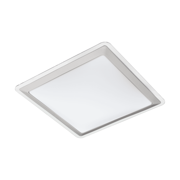 LED-ΦΩΤΙΣΤΙΚΟ ΟΡΟΦΗΣ 340X340 WS/ΑΣΗΜΙ/ΔΙΑΦΑΝΟ COMPETA 1 - 95679 - EGLO
