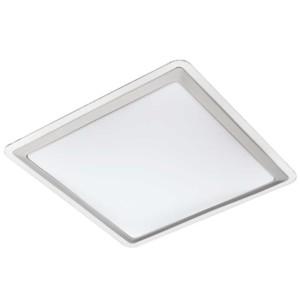 LED-ΦΩΤΙΣΤΙΚΟ ΟΡΟΦΗΣ 430X430 WS/ΑΣΗΜΙ/ΔΙΑΦΑΝΟ COMPETA 1 - 95681 - EGLO