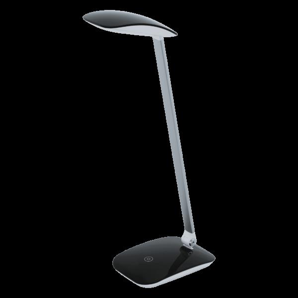 LED-ΕΠΙΤΡΑΠΕΖΙΟ ΦΩΤΙΣΤΙΚΟ M.TOUCH+USB ΜΑΥΡΟ CAJERO - 95696 - EGLO
