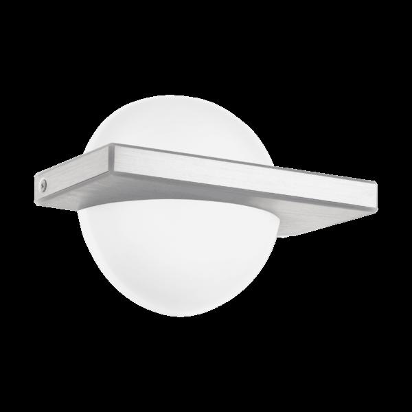 LED-ΦΩΤΙΣΤΙΚΟ ΤΟΙΧΟΥ/1 ALU-GEB/ΛΕΥΚΟ BOLDO - 95771 - EGLO