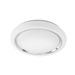 LED-ΦΩΤΙΣΤΙΚΟ ΟΡΟΦΗΣ Ø340 ΛΕΥΚΟ / ΧΡΩΜΕ CAPASSO - 96023 - EGLO