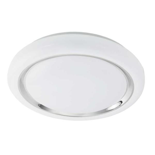 LED-ΦΩΤΙΣΤΙΚΟ ΟΡΟΦΗΣ Ø400 ΛΕΥΚΟ/ΧΡΩΜΕ CAPASSO - 96024 - EGLO