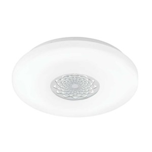 LED-ΦΩΤΙΣΤΙΚΟ ΟΡΟΦΗΣ Ø400 WS / ΧΡΩΜΕ GLITZER CAPASSO 1 - 96026 - EGLO